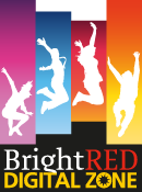 BrightRed Digital Zone logo