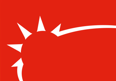 Bright Red logo footer