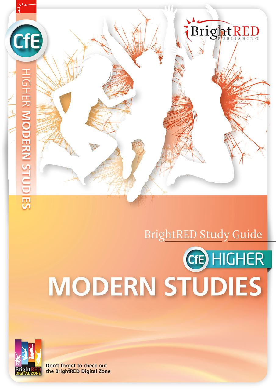 Picture of CfE HIGHER MODERN STUDIES (ORIGINAL EDITION)