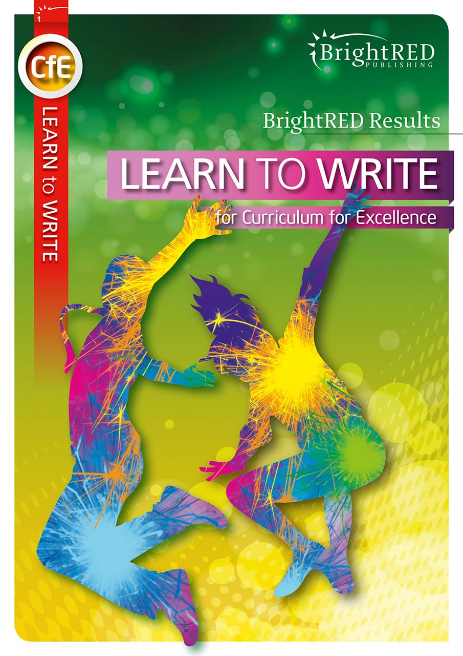 Picture of CfE Learn to Write