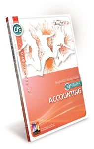 Picture of CfE HIGHER ACCOUNTING (ORIGINAL EDITION)