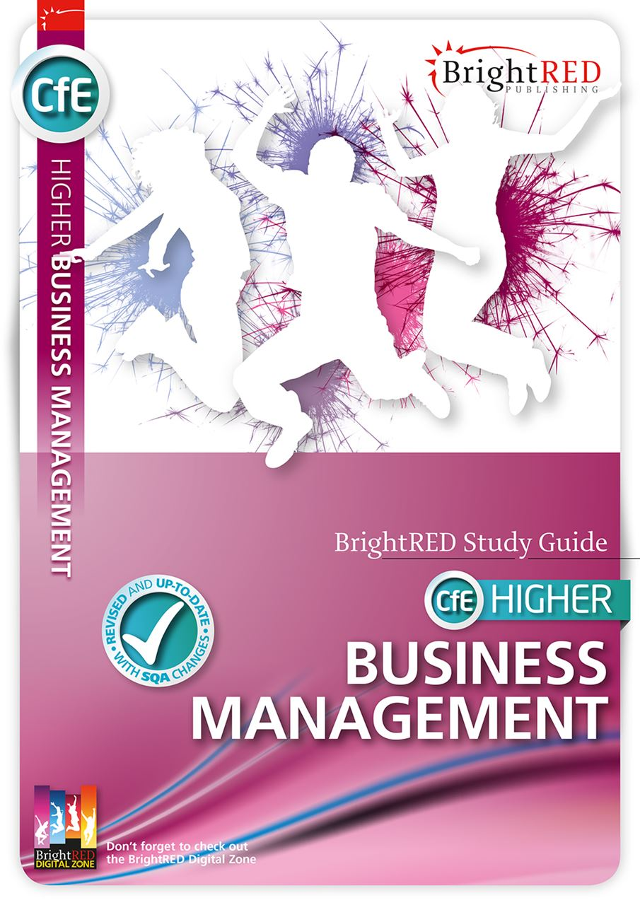 Picture of CfE HIGHER BUSINESS MANAGEMENT