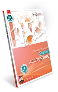 Picture of CfE HIGHER ACCOUNTING