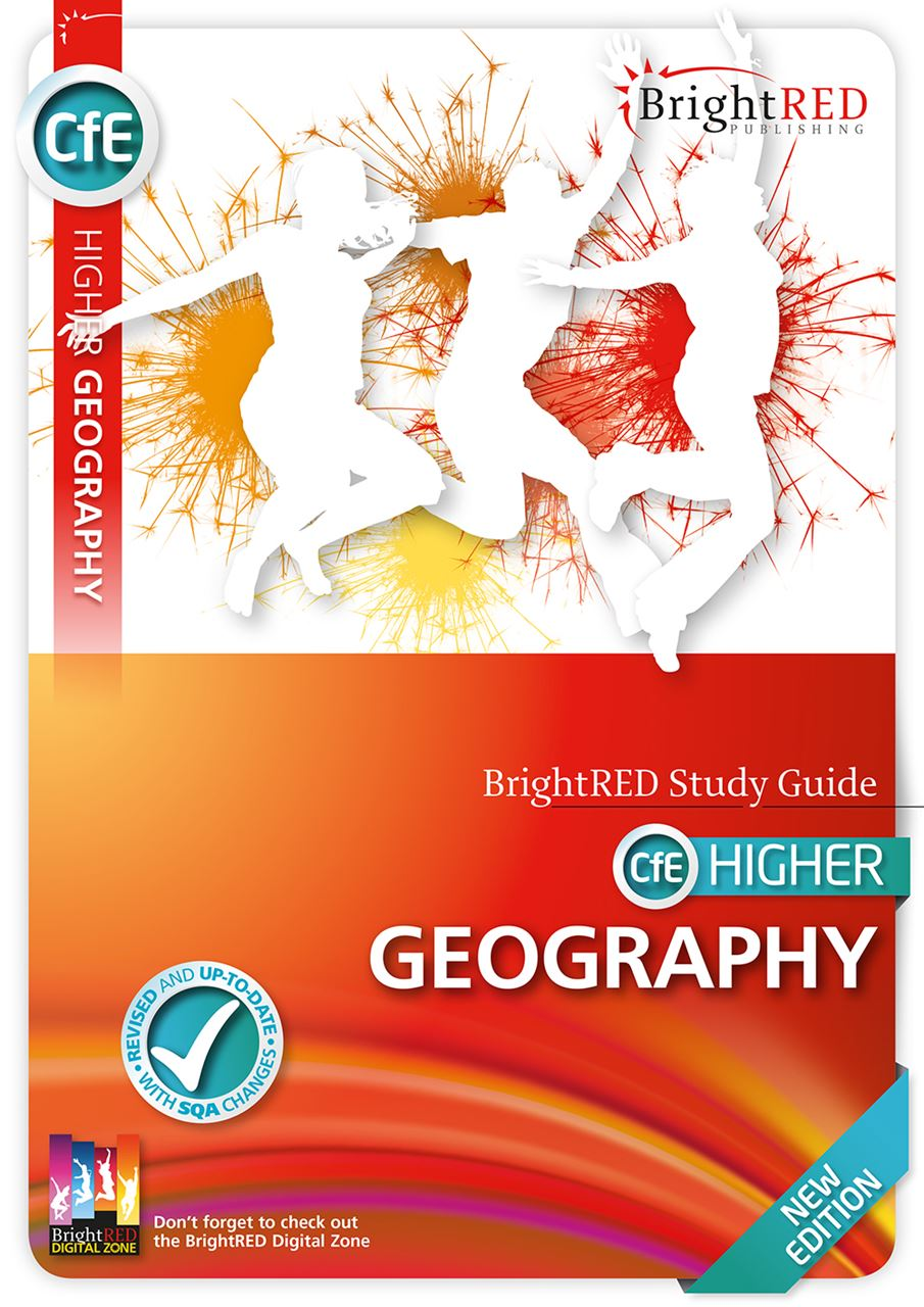 Picture of CfE HIGHER GEOGRAPHY NEW EDITION
